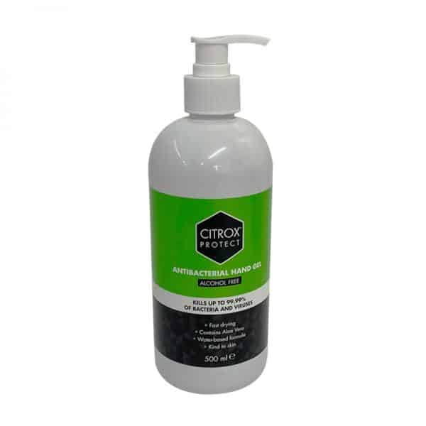 Citrox Protect Alcohol Free Hand Gel 500ml